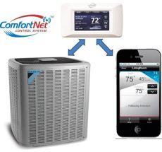 comfortnet thermostat app daikin announces new comfortnet 174 thermostats and mobile app for inverter technology systems