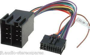 pioneer 18 pin wiring harness loom power connector