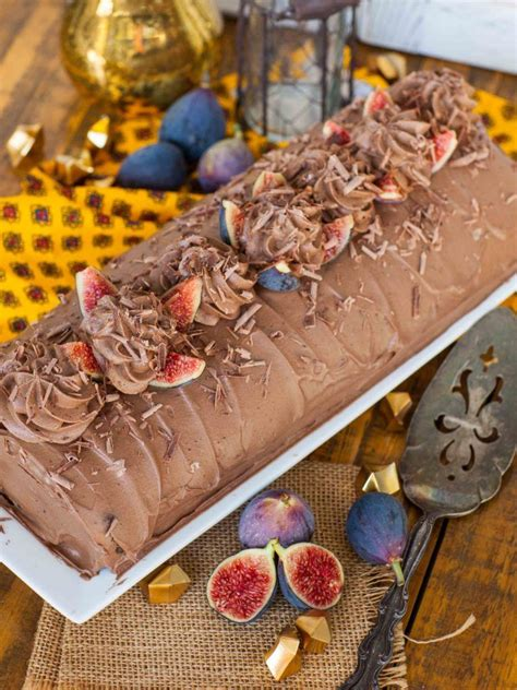 chocolate fig roulade video recipe tatyana everyday food