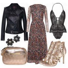 abendoutfit winter abend bronze bei frauenoutfits ch frauenoutfit damenoutfit fashion wintermode