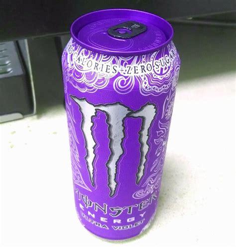 monster energy ultra violet purple top 16 oz