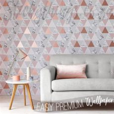 rose gold reflections wallpaper ebay triangle gold wallpaper gold reflections wallpaper stickythings south africa
