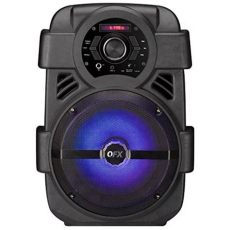 bocina qfx pbx 8 bluetooth 8 pulgadas led rgb radio fm usb - Bocina Qfx Bluetooth Recargable