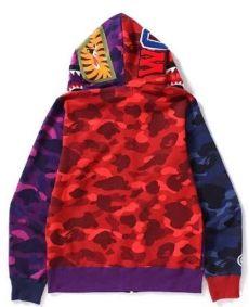 bape shark hoodie purple price buy cheap bape shark purple blue camo zipper hoodie for sale at best price