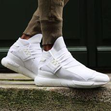 deal of the day 43 the adidas y3 qasa high sneaker shouts - Y3 Qasa Triple White