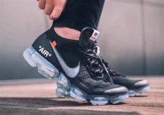 nike off white vapormax black on feet white x nike air vapormax black aa3831 002 2018 sneakerfiles