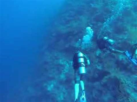 scuba diving tunnels grand turk youtube