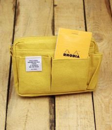 delfonics utility pouchpencil bag delfonics canvas pouch small yellow canvas pouch bags