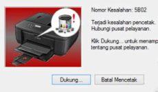 resolve error 5b02 canon mx377 how to resolve canon mx497 printer error 5b02