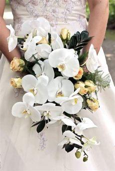 was kostet ein brautstrauss mit orchideen brautstrau 223 orchideen bildergalerie brautstr 228 u 223 e brautstrau 223 mit orchideen und orchideen