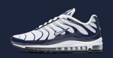 nike air max 97 plus white navy mens navy blue metallic silver white nike air max 97 plus cheap uk