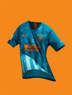 nike third kit 1819 atletico madrid 2018 19 nike third kit 18 19 kits football shirt