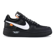 nike x off white the ten air force 1 low black the 10 nike air 1 low quot white quot nike ao4606 001 black white cone black flight club
