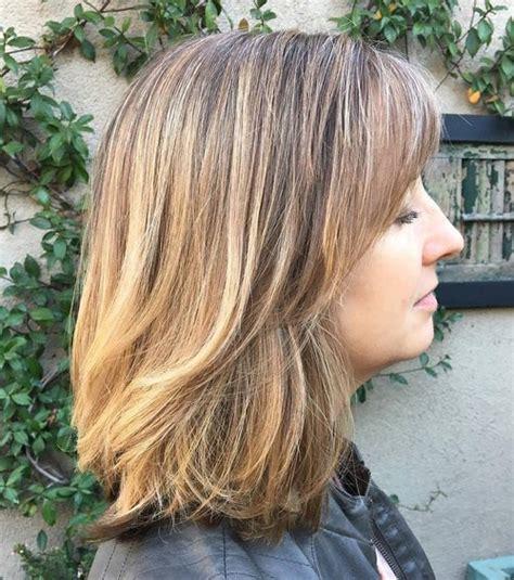 80 sensational medium length haircuts thick hair 2018