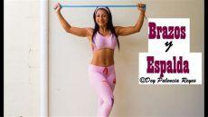 ejercicios con ligas cortas para brazos ejercicios para brazos y espalda con ligas rutina 554 ejercicio para brazos delgados dey