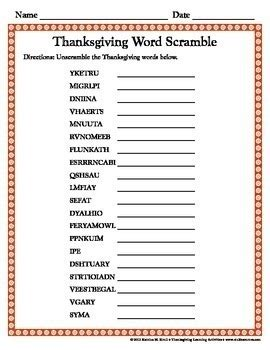 thanksgiving activities elementary students katrina resources