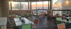 temporary patio enclosure winter heated enclosed patios