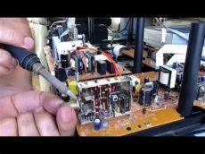 arreglar antena tv como reparar el conector de antena roto de un tv