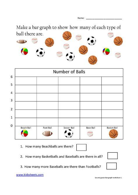 kidz worksheets grade bar graph worksheet1 school pinterest