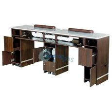 manicure table with ventilation nail table built in ventilation system