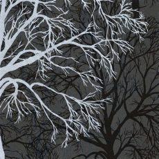 graham brown silver black tree pattern motif wallpaper 60011 - Tree Motif Wallpaper