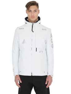 lyst nike acg tex 2 in 1 system shell jacket in white for - Nike Acg Jacket White