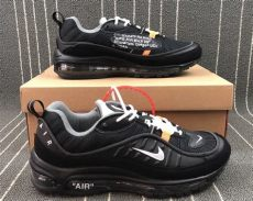 off white x nike air max 98 white x nike air max 98 black for sale hoop