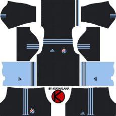 kit dls polos hitam kumpulan kit dls keren adidas untuk tim impian sobat