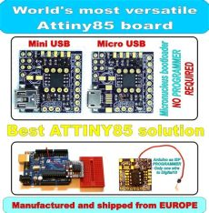 attiny85 programmer mini micro usb arduino shield isp icsp digispark compatible from - Attiny85 Isp Pins
