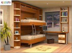 muebles parchis madrid y torrijos camas abatibles literas abatibles mobiliario juvenil - Literas De Madera Modernas Para Adolescentes