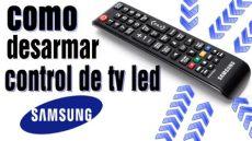 programar control universal para samsung como desarmar remoto tv led samsung