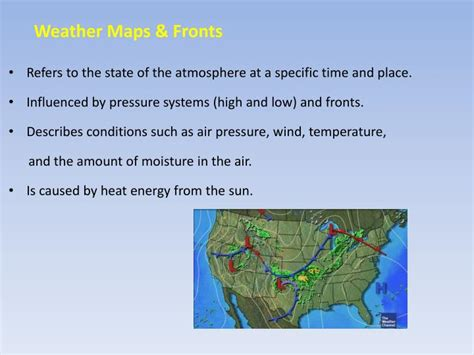 ppt weather maps fronts powerpoint presentation id