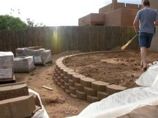 decorating ideas for concrete block walls how to build a cinder block retaining wall with rebar allstateloghomes