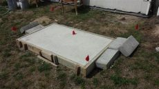 generac generator pad new concrete pad for standby whole house generac 20 kw generator yelp