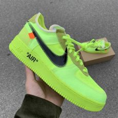 nike air force 1 x off white green white x nike air 1 low quot volt quot green release date ao4606 700