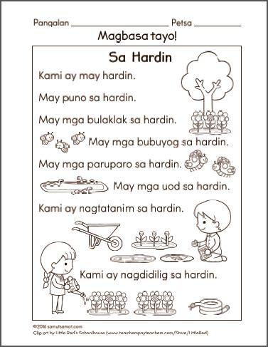 preschool filipino worksheets archives samut samot