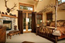 decoracion de dormitorios rusticos madera y piedra - Recamaras Rusticas De Madera