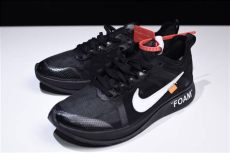 2018 white x nike zoom fly black white s running shoes aj4588 001 with sneaker - Nike X Off White Shoes Black