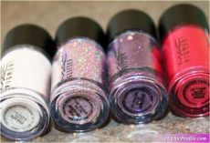 mac glitter swatches 2018 mac pink mini glitter pigments kit 2018 review swatches photos trends and