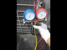 presion de r22 apagado tutorial 2 de carga de r22 en aire acondicionado sistema apagado refrigerar you