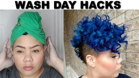 wash day routine curly hair routine youtube