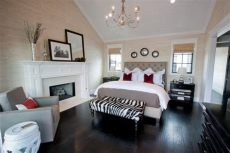 35 master bedrooms with wood floors - Dark Wood Floor Bedroom Ideas