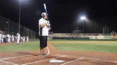 hr demo by bryson baker at 2014 policesoftball world series - Bryson Baker Softball Net Worth
