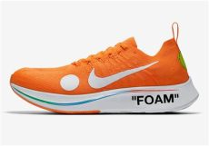 where to buy white x nike zoom fly mercurial flyknit sneakernews - Nike X Off White Zoom Fly Orange