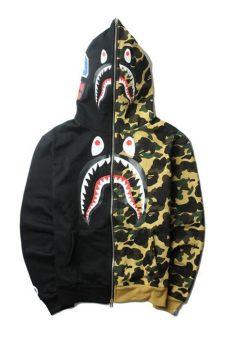 bape sweater cheap cheap bape hoodie shark in 2019 bape bape bape jacket