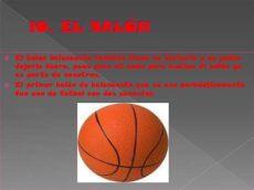 balon de basquetbol caracteristicas el baloncesto