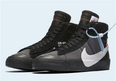 nike blazer off white black white nike blazer black grim reaper where to buy sneakernews