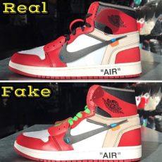 white x 1s real vs limits app medium - Off White Air Jordan 1 Chicago Legit Check