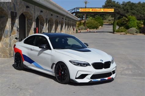 bmw m2 competition performance parts live photos cars