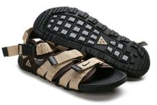 nike acg sandals for men nike air deschutz acg sandals for in beige brown black sale
